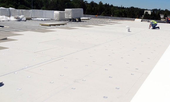 Single Ply Roofing Membranes Ib Roof Systems