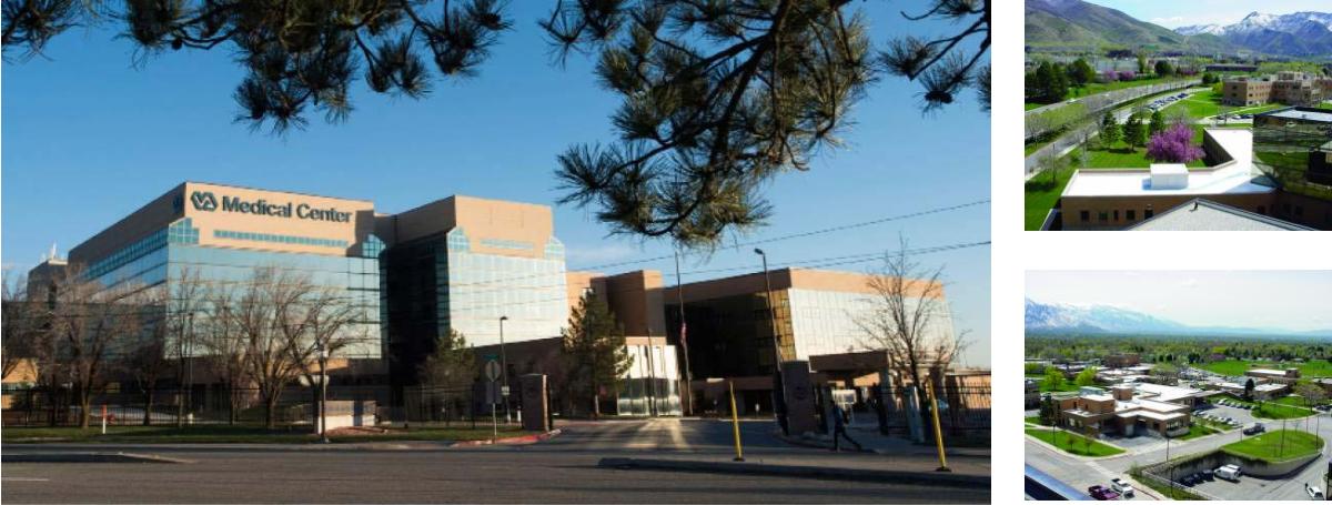 V.A. Hospital, Sale Lake City, Utah - White membrane