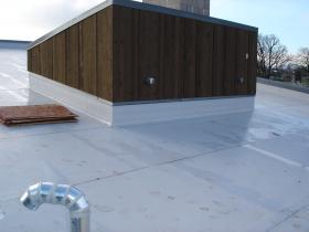 IB's roof membrane at University of Oregon,