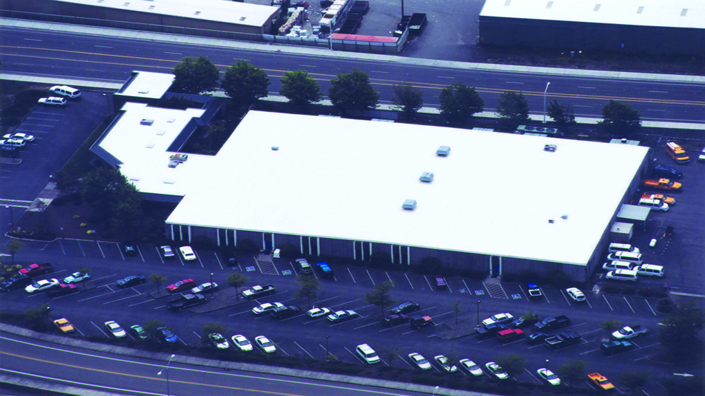 IB Roof-White Membrane-ODOT Regional office-Oregon